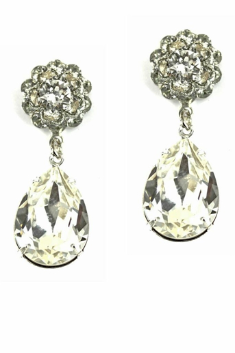 Picture of Crystal Drop Earrings