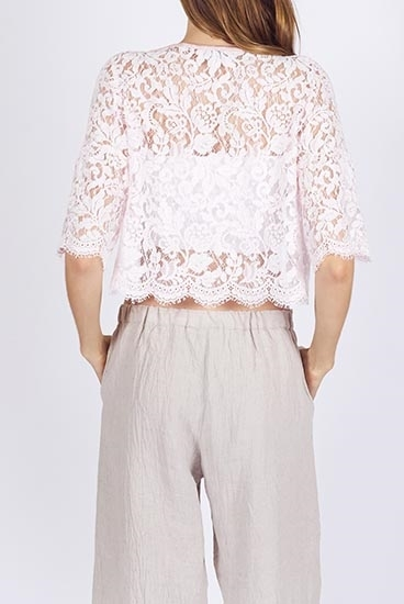 Picture of Vintage French Lace Bolero
