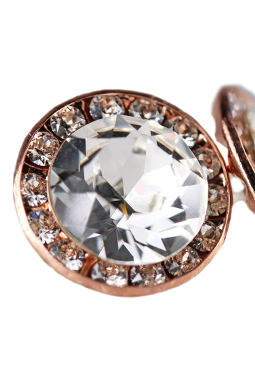 Picture of Rose Gold & Crystal Stud