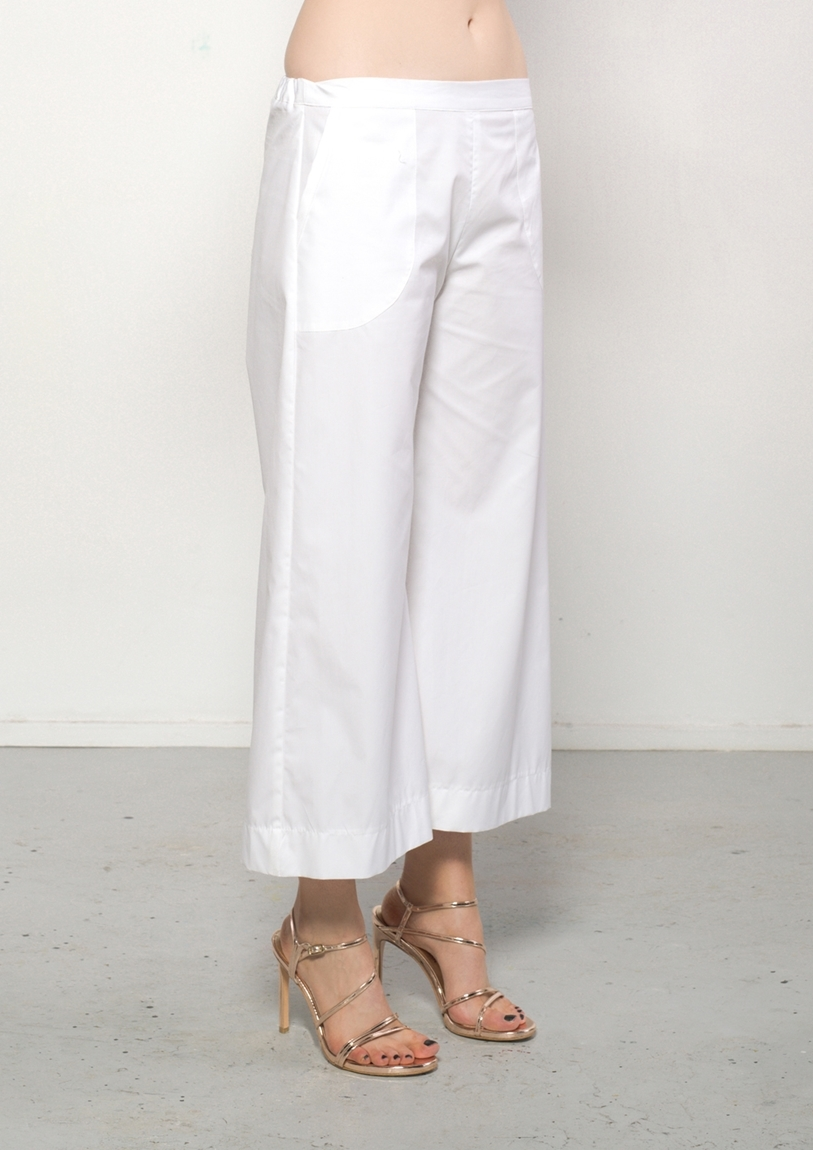 Picture of Japanese Cotton Culotte White