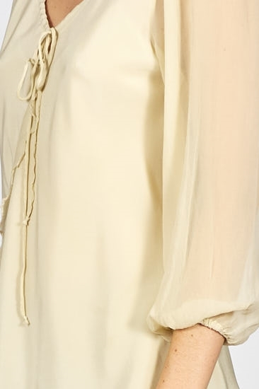 Picture of Drawstring Top Pebble