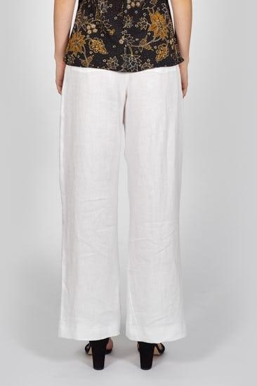 Picture of Wide-Leg Linen Pants