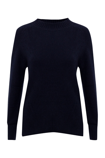 Picture of Sarah Crew Neck Jumper Navy