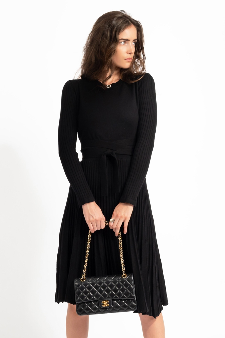 Picture of Chloe Swing Dress Black