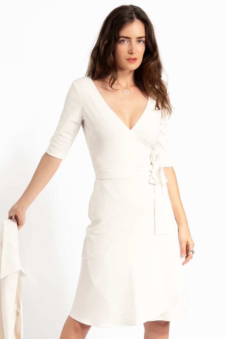 Picture of Scarlett Dress Ivory