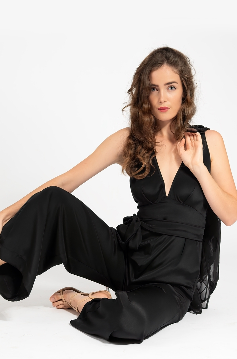 Picture of Casablanca Jumpsuit Black