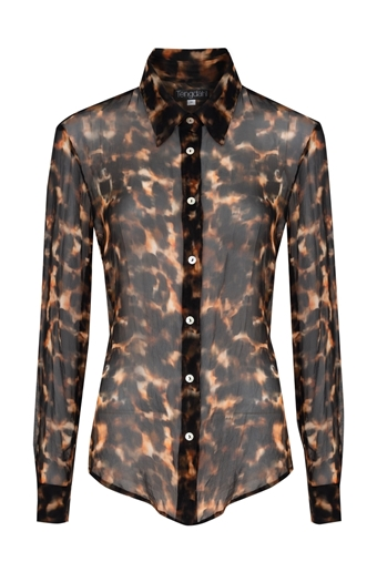 Picture of Amira Blouse Tortoiseshell