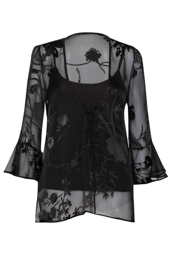 Picture of Adriana Blouse Black