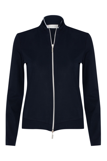 Picture of Zip Front Jumper Navy
