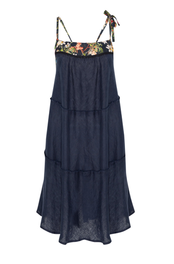 Picture of Short Swing Dress Navy
