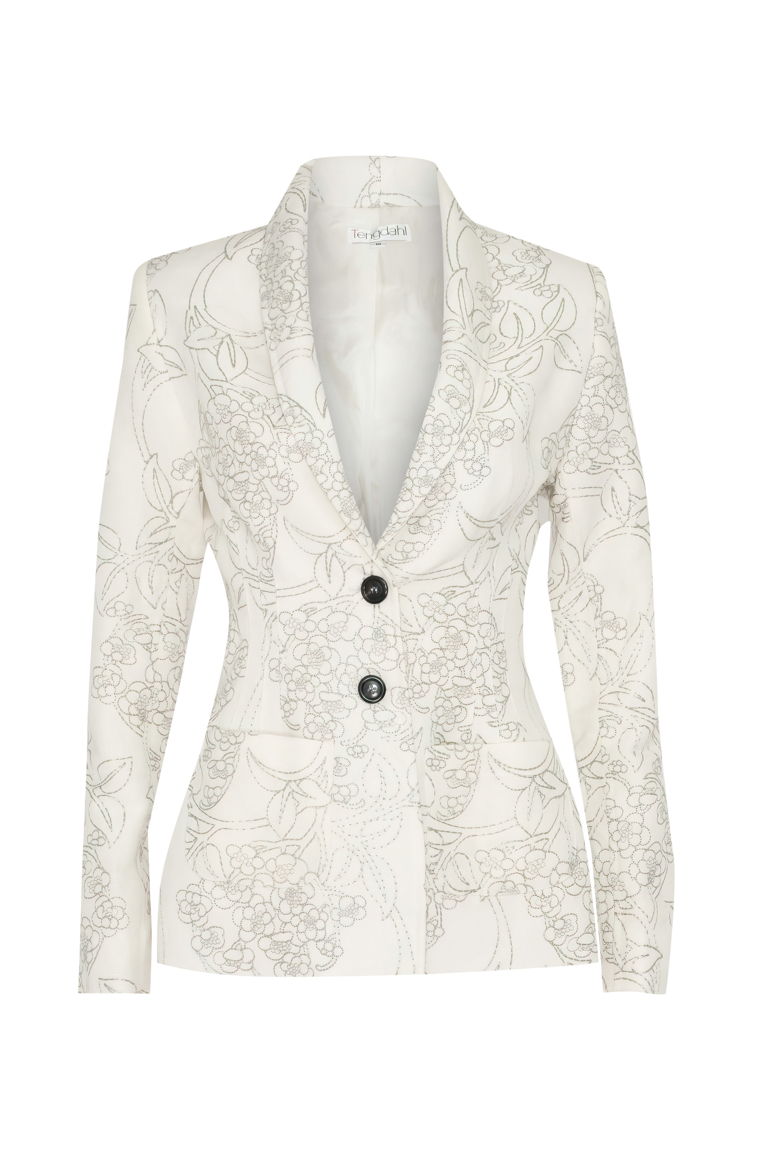 Picture of Marie Curie Jacket Ivory