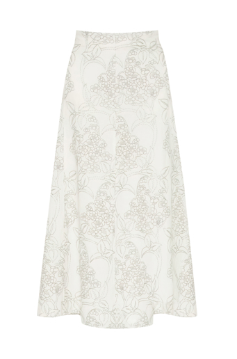 Picture of Marie Curie Skirt Ivory