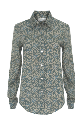 Picture of Adele Classic Shirt Sage