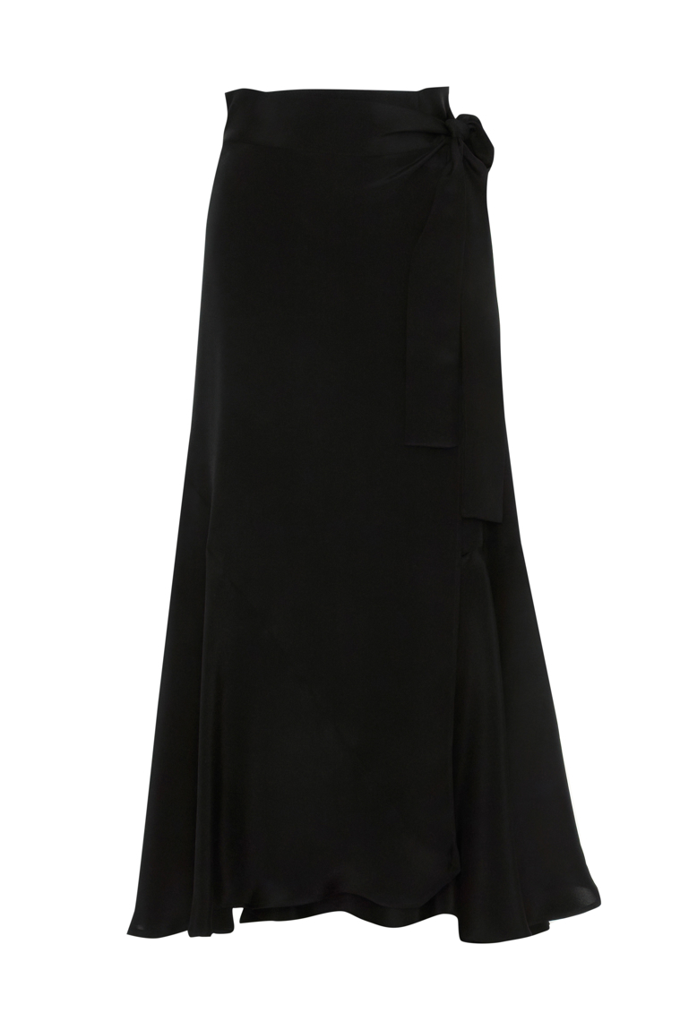 Picture of Margueritte Maxi Skirt Black