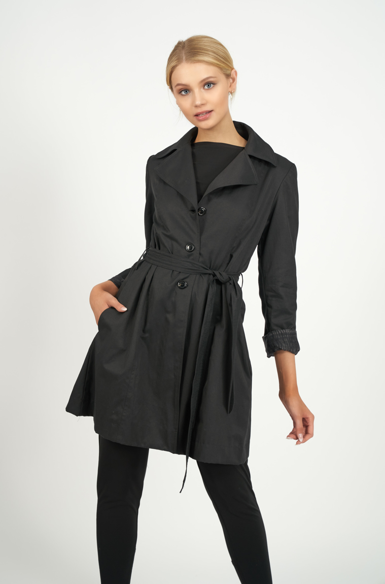 Picture of Trench Coat Black