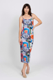 Picture of Maxi Slip Dress Heart Garden