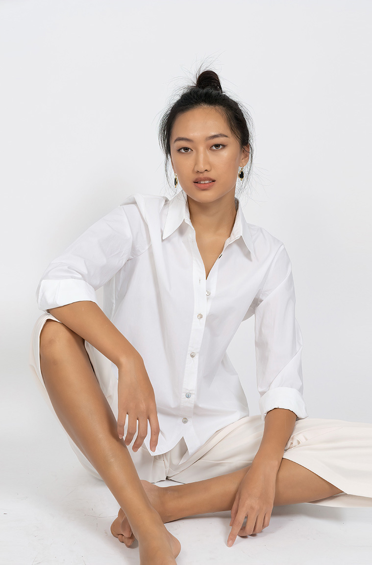 Picture of Adele Cotton Shirt White